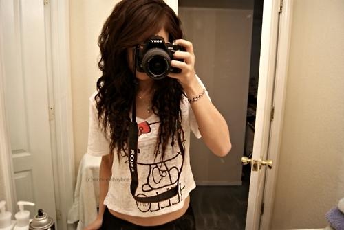Фото девочек с тёмными волосами