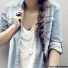 vivian_d Mała mogę Cię przytulić? Przecież mnie przytulasz...To tak jakbym Ci teraz walnęła w twarz po czym zapytała czy mogę ci kulturalnie przyjebać. Jednej prawdziwi